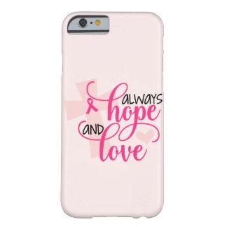 Capa Barely There Para iPhone 6 Consciência cristã do cancro da mama