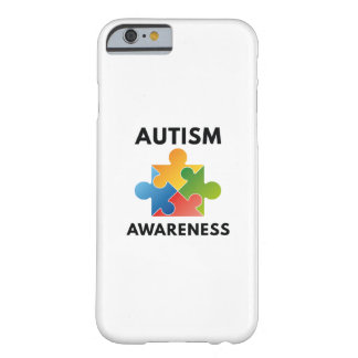 Capa Barely There Para iPhone 6 Consciência do autismo
