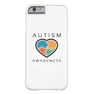 Capa Barely There Para iPhone 6 Consciência do autismo