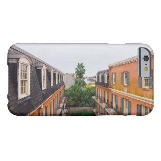 Capa Barely There Para iPhone 6 Construções e palmeiras em Nova Orleães