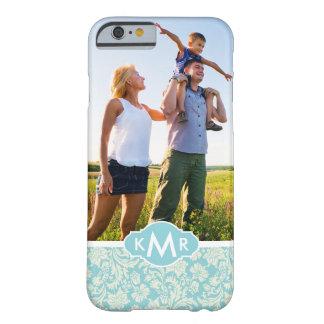 Capa Barely There Para iPhone 6 Cor damasco feita sob encomenda 3 da foto & do