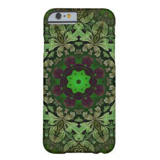 Capa Barely There Para iPhone 6 cor damasco rústica do verde do punk do vapor