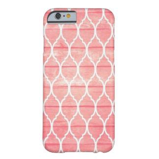 Capa Barely There Para iPhone 6 Cor-de-rosa-Linhas iPhone 6/6s