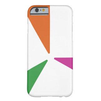 Capa Barely There Para iPhone 6 Cores coloridas do teste padrão 3