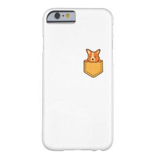 Capa Barely There Para iPhone 6 Corgi no cão de filhote de cachorro do animal de