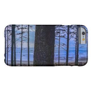 Capa Barely There Para iPhone 6 Costa de mar da praia do rubi