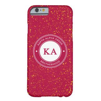 Capa Barely There Para iPhone 6 Crachá alfa da ordem   do Kappa
