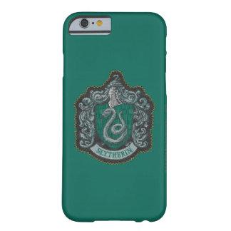 Capa Barely There Para iPhone 6 Crista poderosa retro de Harry Potter   Slytherin