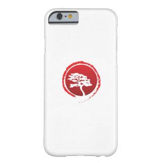Capa Barely There Para iPhone 6 Cultura japonesa da tradição de Japão da árvore