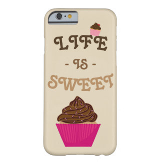 Capa Barely There Para iPhone 6 Cupcake