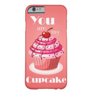 Capa Barely There Para iPhone 6 Cupcake de Chipkoo