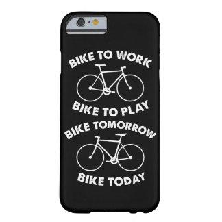 Capa Barely There Para iPhone 6 Da bicicleta ciclismo legal para sempre -