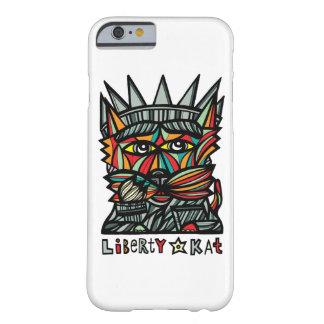 "Capa Barely There Para iPhone 6 Da ""capa de telefone lustrosa do Kat liberdade"""