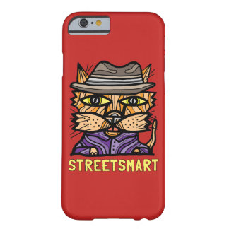 "Capa Barely There Para iPhone 6 Da ""capa de telefone lustrosa esperta rua"""