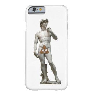 Capa Barely There Para iPhone 6 David por Michalangelo com o tombadilho feliz