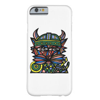 "Capa Barely There Para iPhone 6 De ""capa de telefone lustrosa Viking Kat"""