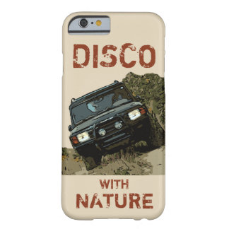 CAPA BARELY THERE PARA iPhone 6 DESCOBERTA - DISCO COM NATUREZA