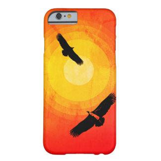 Capa Barely There Para iPhone 6 Deserto de circundamento Sun dos abutres