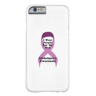 Capa Barely There Para iPhone 6 Desgaste da consciência de Alzheimers para meu GIF