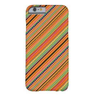 Capa Barely There Para iPhone 6 Design asteca nativo colorido bonito dos padrões