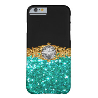Capa Barely There Para iPhone 6 Design glamoroso chamativo das senhoras Bling