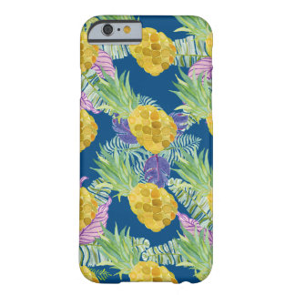 Capa Barely There Para iPhone 6 design tropical super dos abacaxis