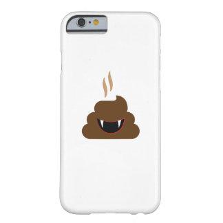 Capa Barely There Para iPhone 6 Dia das Bruxas engraçado de Emoji do tombadilho do