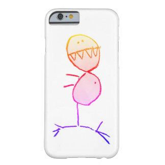 "Capa Barely There Para iPhone 6 ""Dino"" - por Carey"