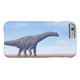 Capa Barely There Para iPhone 6 Dinossauro do Argentinosaurus no deserto - 3D
