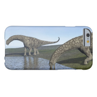 Capa Barely There Para iPhone 6 Dinossauros do Argentinosaurus - 3D rendem