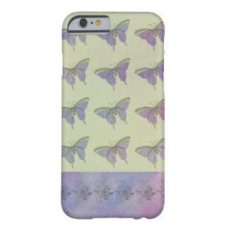 Capa Barely There Para iPhone 6 Divertimento à moda bonito feminino das borboletas