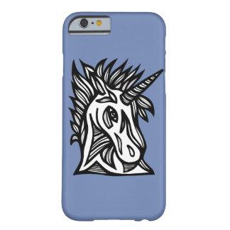 "Capa Barely There Para iPhone 6 Do ""capa de telefone do espírito unicórnio"""