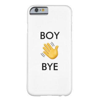 """Capa Barely There Para iPhone 6 Do """"caso Sassy do adeus menino"""""""