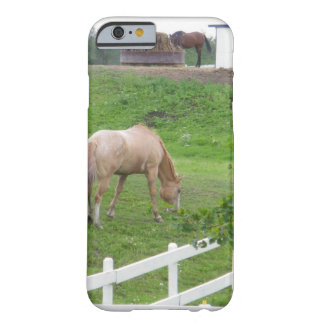 Capa Barely There Para iPhone 6 Dois cavalos