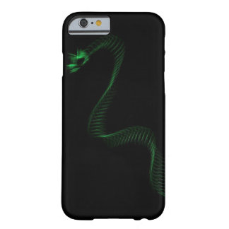 Capa Barely There Para iPhone 6 Dragão verde