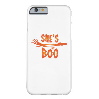 Capa Barely There Para iPhone 6 É meu casal do amor do Dia das Bruxas da vaia