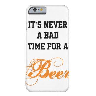 Capa Barely There Para iPhone 6 É nunca um mau momento para uma cerveja