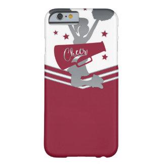 Capa Barely There Para iPhone 6 Elogio marrom & de prata das estrelas