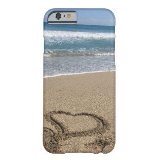 Capa Barely There Para iPhone 6 Elogios da praia