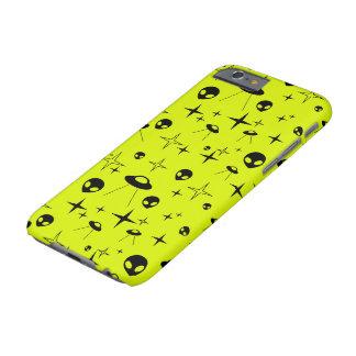 Capa Barely There Para iPhone 6 Encontros estrangeiros do tipo do telefone -