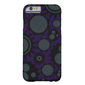 Capa Barely There Para iPhone 6 Engrenagens de Steampunk do Grunge