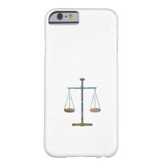 Capa Barely There Para iPhone 6 Escalas de justiça
