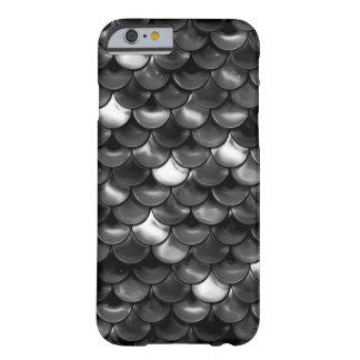 Capa Barely There Para iPhone 6 Escalas preto e branco de Falln