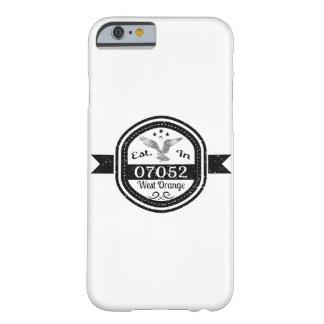 Capa Barely There Para iPhone 6 Estabelecido em 07052 West Orange