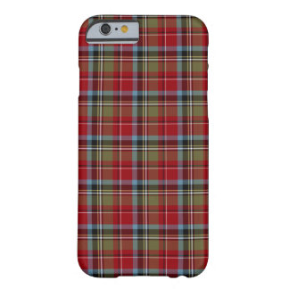 Capa Barely There Para iPhone 6 Estado de Tartan de North Carolina