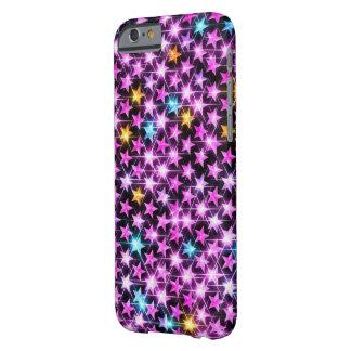 Capa Barely There Para iPhone 6 estrelas brilhantes bonitas