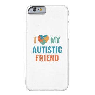 Capa Barely There Para iPhone 6 Eu amo meu amigo autístico