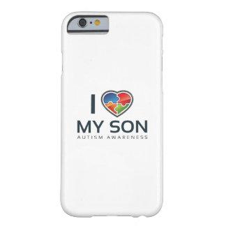 Capa Barely There Para iPhone 6 Eu amo meu filho
