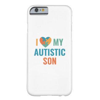 Capa Barely There Para iPhone 6 Eu amo meu filho autístico