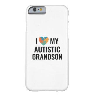 Capa Barely There Para iPhone 6 Eu amo meu neto autístico